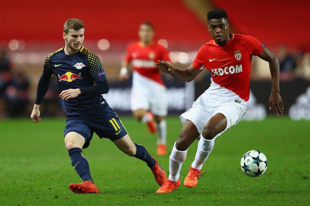 Timo Werner wird in der neuen Saison mit RB Leipzig noch ein 2. Mal in der Champions League, wie hier im November 2017 beim 4:1 in Monaco, spielen...