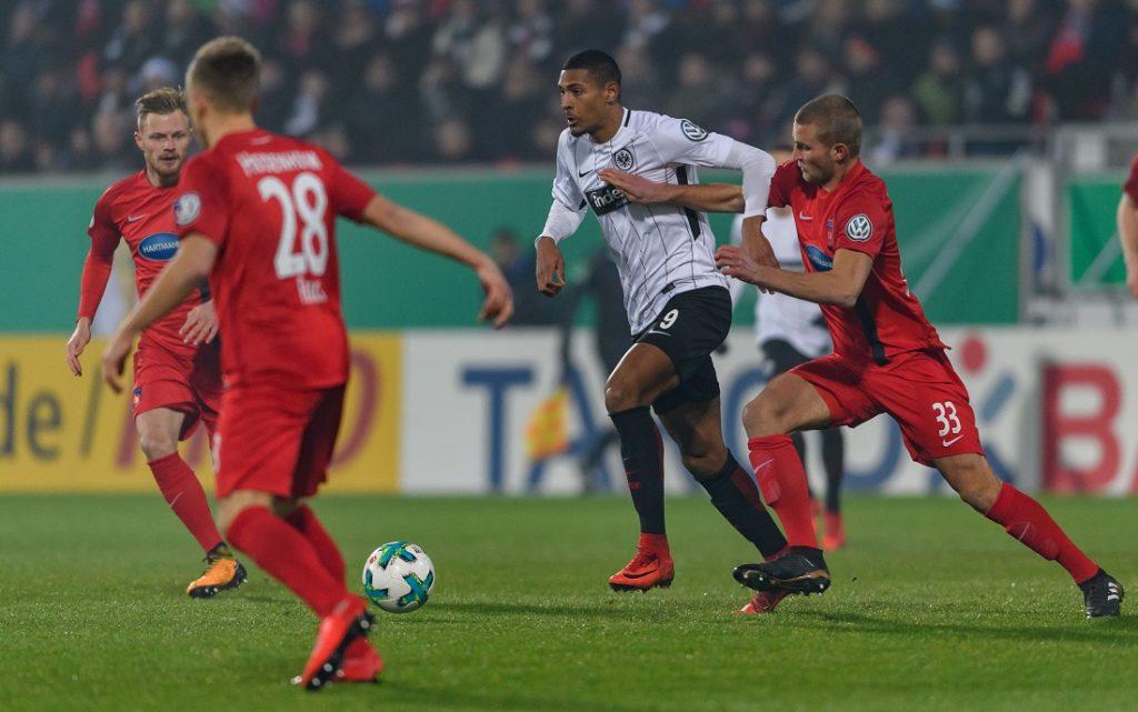 Sebastien Haller hatte maßgeblichen Anteil am DFB-Pokalsieg von Eintracht Frankfurt 2018.