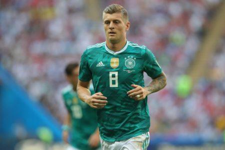 Auch Toni Kroos konnte das WM-Aus am 27. Juni 2018 in Kazan gegen Südkorea nicht verhindern