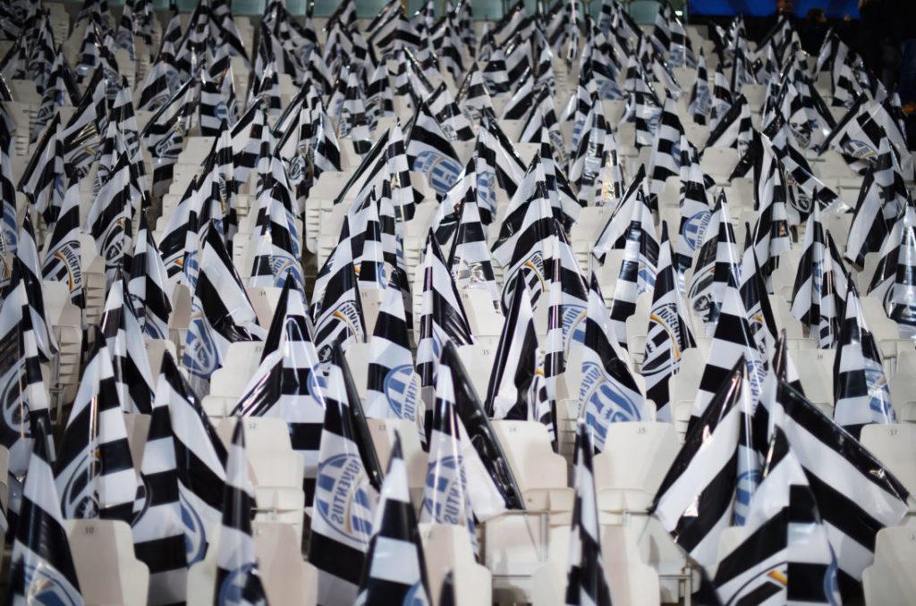 Juventus Turin Fahne