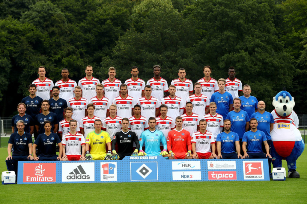Hamburger SV - Team Präsentation