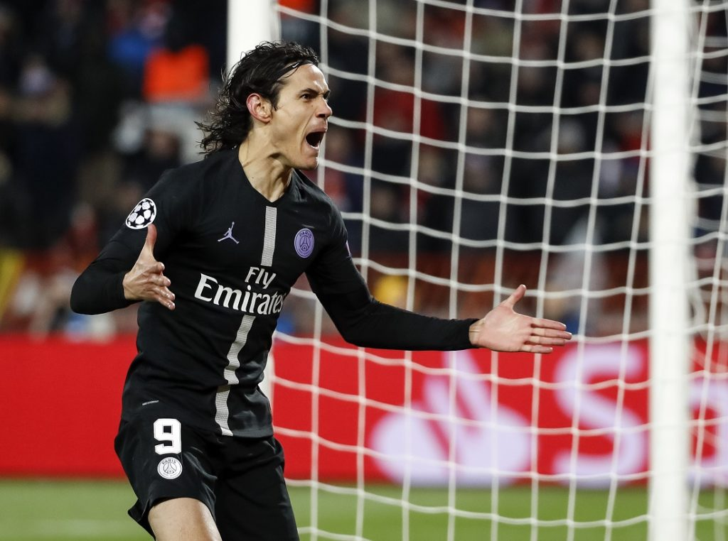 Out of Contract Edinson Cavani to leave PSG and join La Liga giants in January
