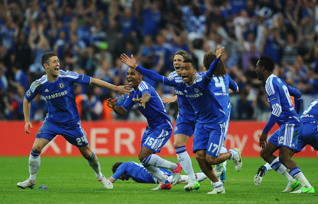 Kaum eine Niederlage schmerzte den FC Bayern mehr als die im Champions-League-Finale gegen den FC Chelsea im eigenen Stadion am 19. Mai 2012. (Photo by Mike Hewitt/Getty Images)