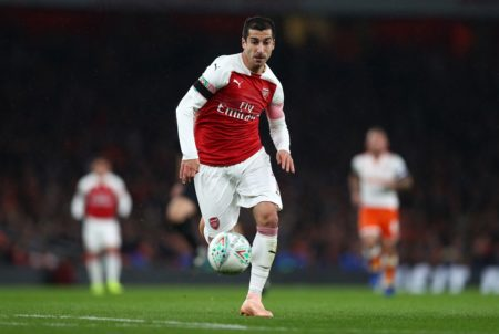 Nichts wie weg vom FC Arsenal: Henrikh Mkhitaryan. (Photo by Naomi Baker/Getty Images)