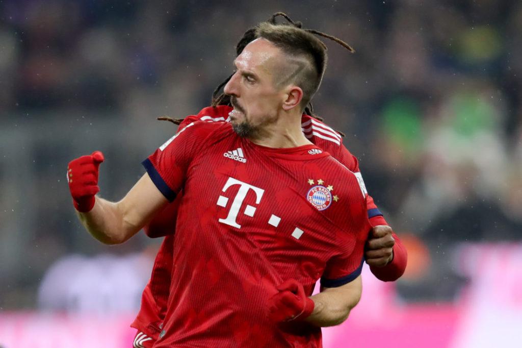 Impulsiv und unberechenbar: Franck Ribéry beim FC Bayern München.