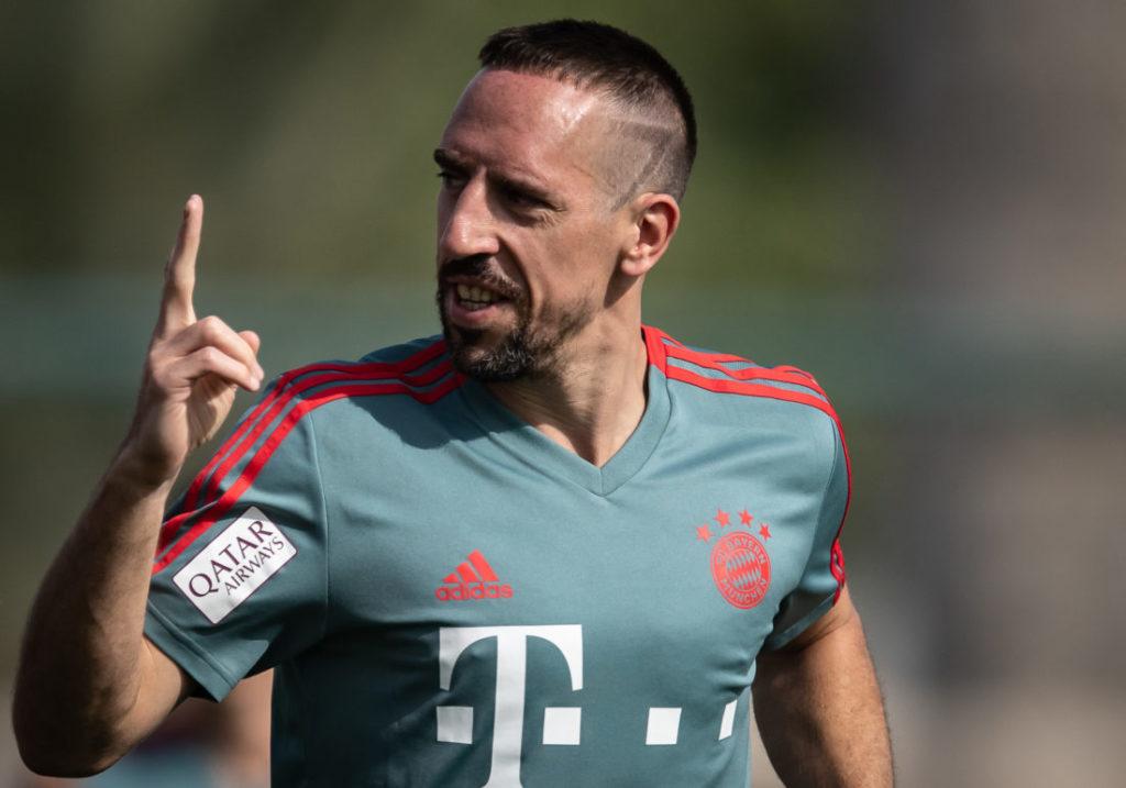 Am 7. Januar 2019 zeigt sich Franck Ribéry im Winter-Trainingslager des FC Bayern München in Doha wieder obenauf...