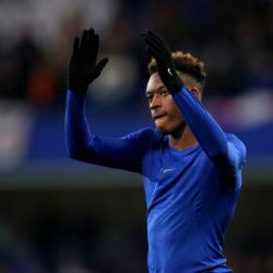 Sieht so einer aus, der den FC Chelsea verlassen will? Callum Hudson-Odoi nach dem Pokalerfolg gegen Sheffield Wednesday.