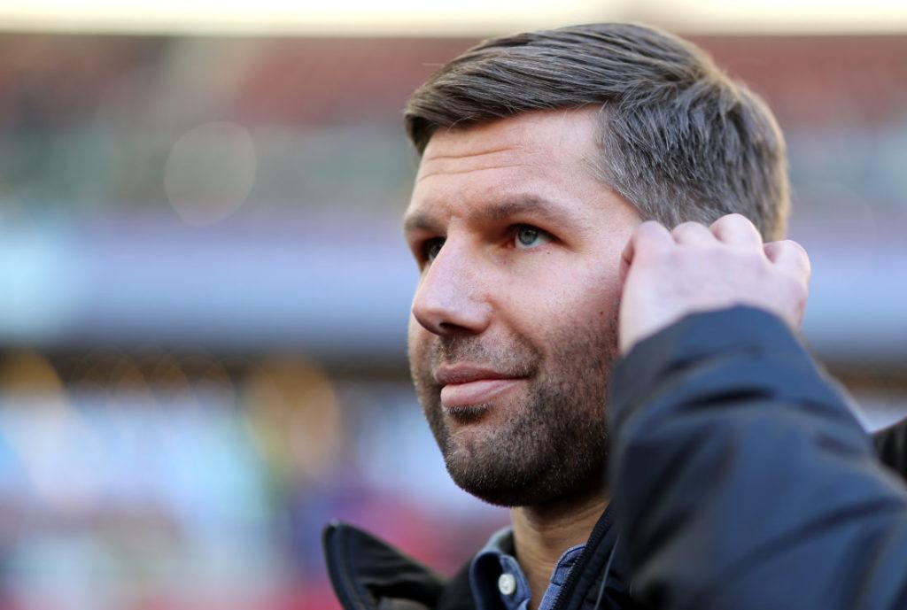 Thomas Hitzlsperger muss mit dem VfB Stuttgart den bitteren Neuanfang in der 2. Liga wagen