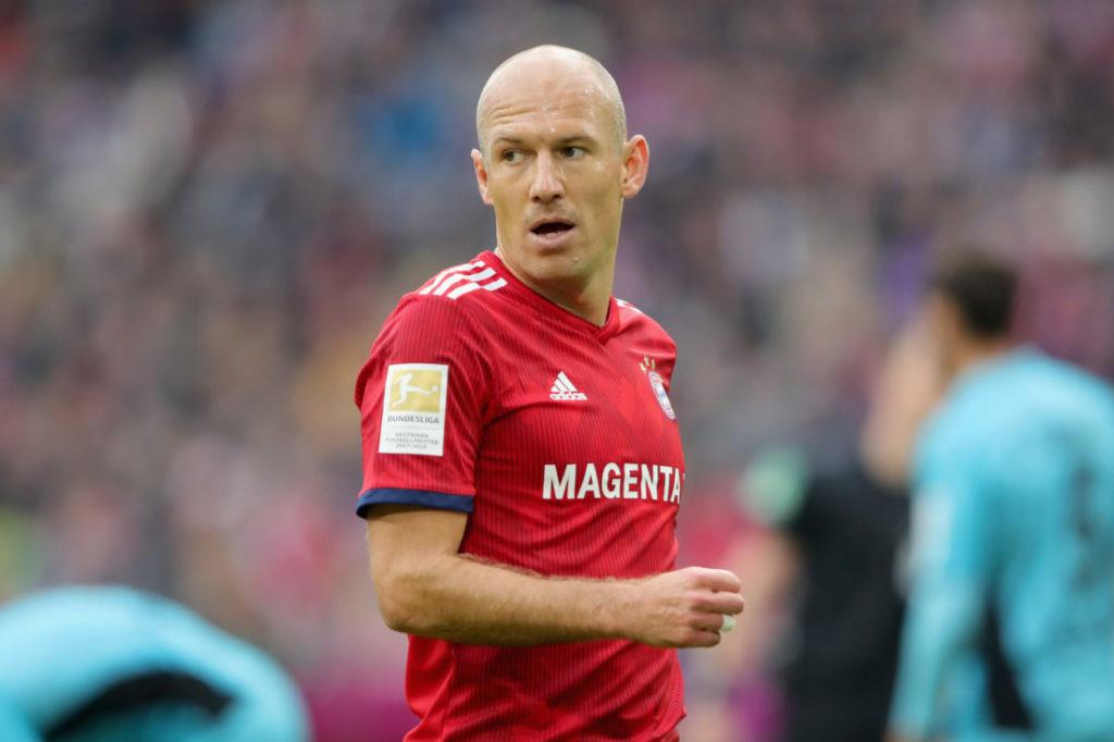 Arjen Robben wird den FC Bayern im Sommer 2019 verlassen.