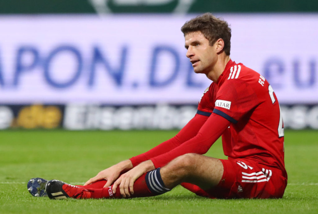 Die Devolution des Thomas Müller.