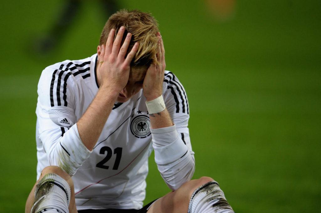 Marco Reus trifft nicht gegen die Niederlande.