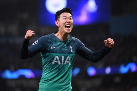 Man of the match - Heung Minh Son.