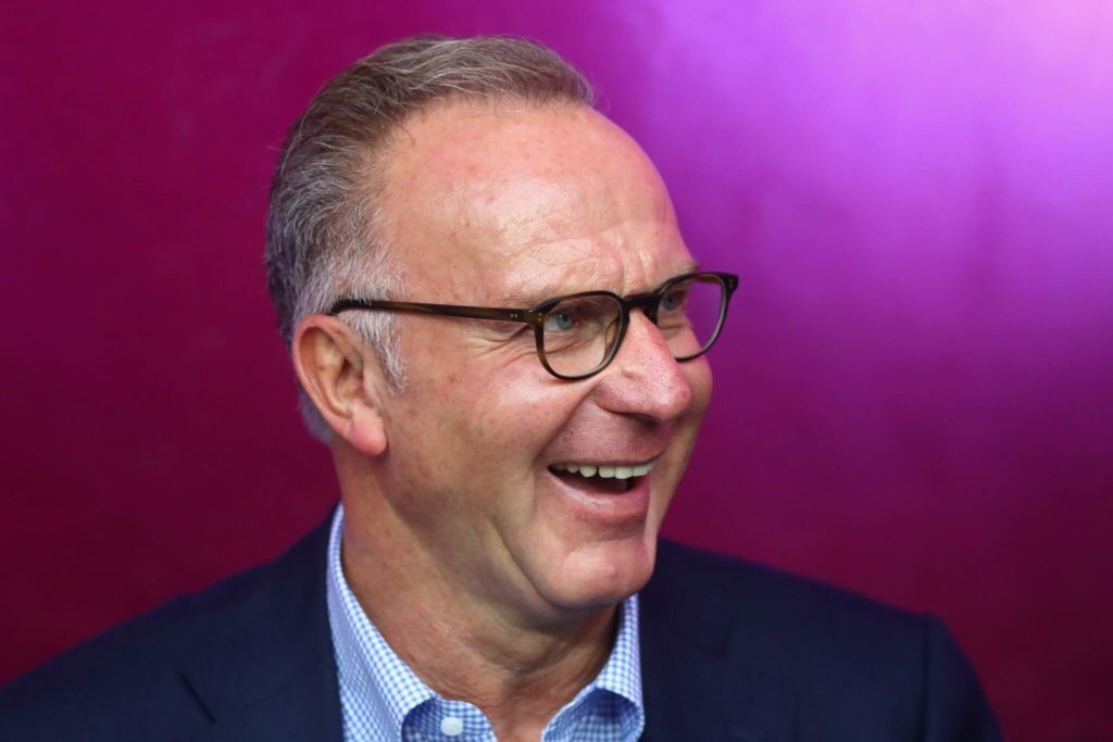Gyula Lorant also worked for FC Bayern Munich. Karl Heinz Rummenigge certainly knows. (Photo by Alexander Hassenstein/Bongarts/Getty Images)