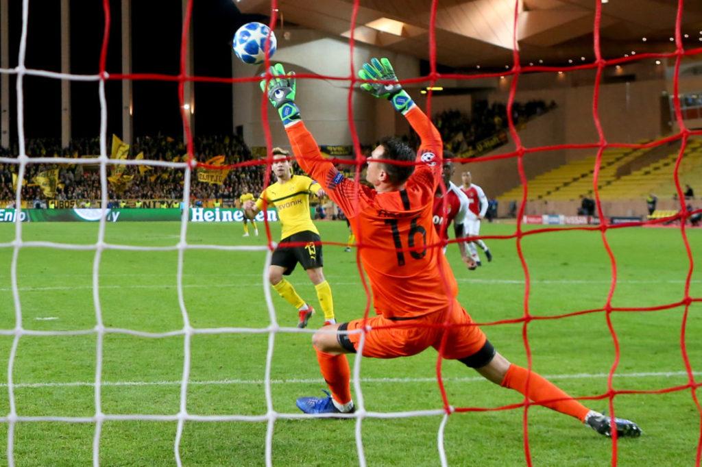 Borussia Dortmund und Raphael Guerreiro schossen Monaco 2018 aus der Champions-League-Vorrunde.