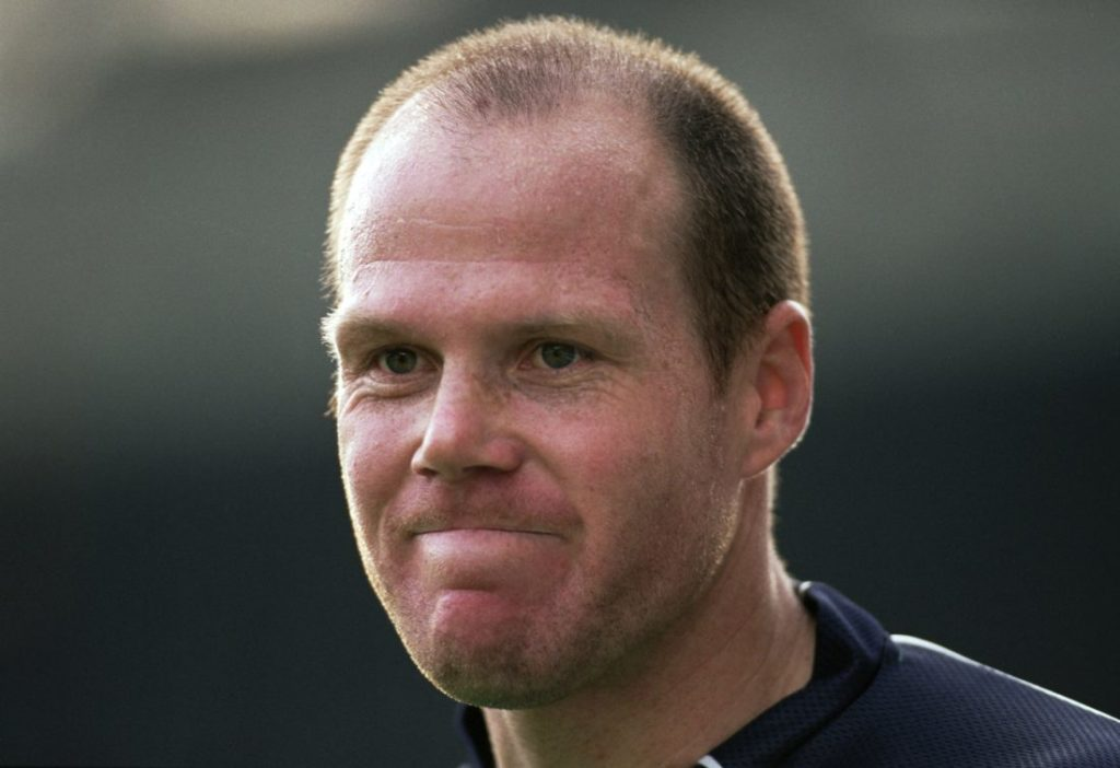 14 Oct 2001: Portrait of Brad Friedel of Blackburn Rovers during the FA Barclaycard Premiership match against West Ham United played at Ewood Park, in Blackburn, England. Blackburn Rovers won the match 7-1.