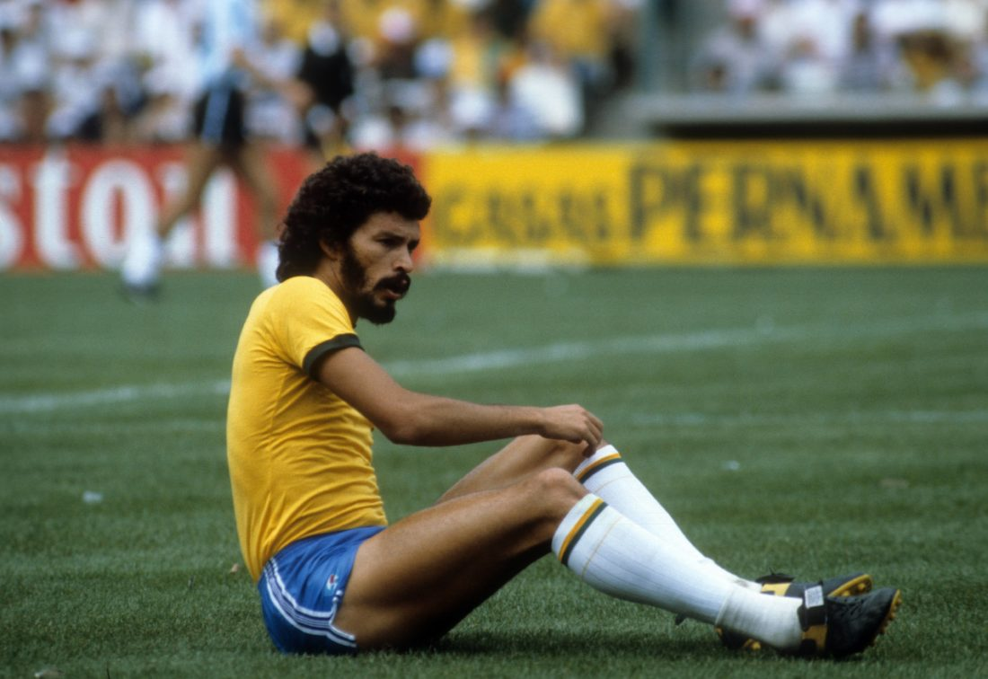Sokrates - Brazils tragic football hero from the 70s and 80s.