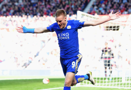 April 10, 2016: The sensation is almost perfect. Jamie Vardy shoots Leicester City close to the Premier League title at Sunderland 2-0...