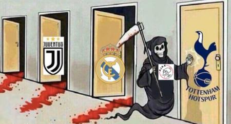 Der Fußball-Tod geht um. Und ist ein Holländer. Ajax Amsterdam