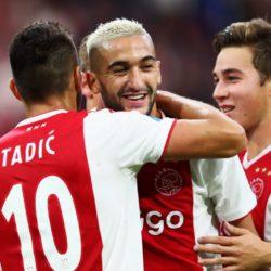 Glanzvoll im Ajax-Trikot. Hakim Ziyech.