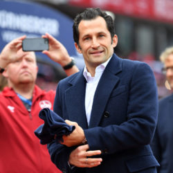 Bayerns Sportdirektor Hasan Salihamidzic, hier in Nürnberg, hat für diese Transfer-Periode einiges versprochen...