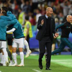Zinedine Zidane und Real Madrid profitierten noch im Champions-League-Finale 2018 gegen den FC Liverpool (3:1) von 2 Toren von Gareth Bale...