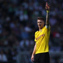 Marco Reus, hier beim 2:0 in Mönchengladbach am letzten Spieltag der Saison 2018/2019, will mit Borussia Dortmund ganz nach oben.