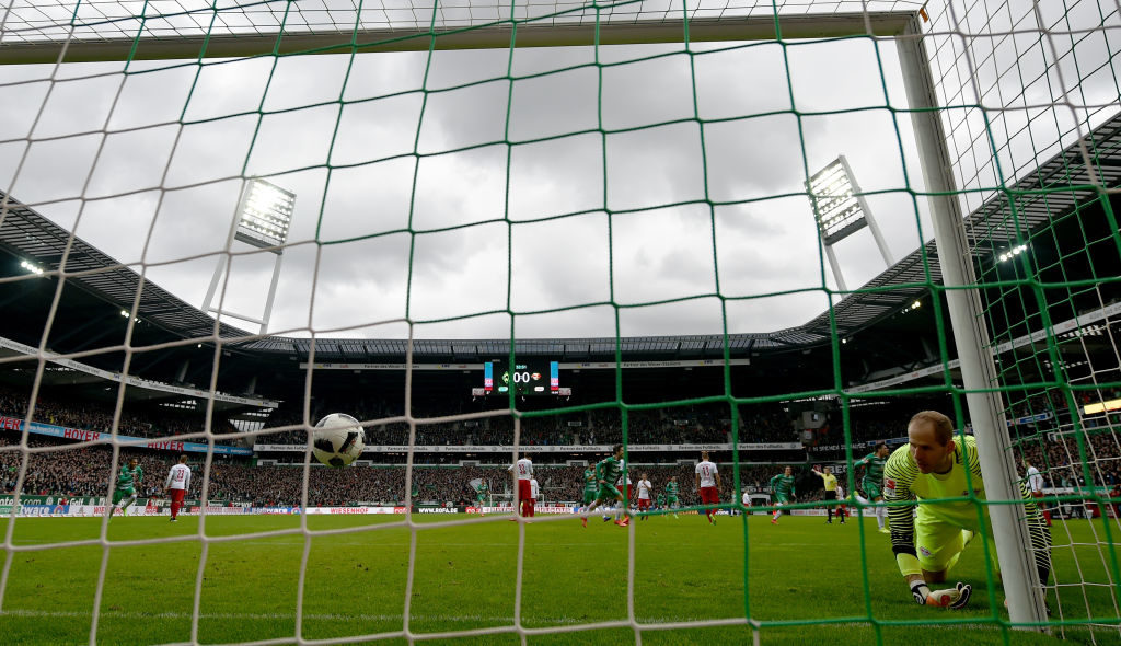 18. März 2017: Mit 3:0 schießt Werder Bremen das hoch ambitionierte RB Leipzig aus dem Weserstadion...