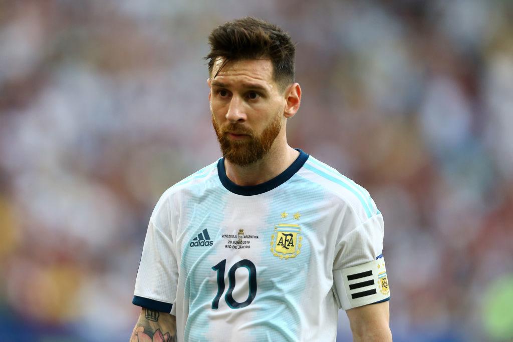 Viel glücklicher als in den Vorrundenspielen wirkte Argentiniens Superstar Lionel Messi auch im Viertelfinale gegen Venezuela nicht... (Photo by Lucas