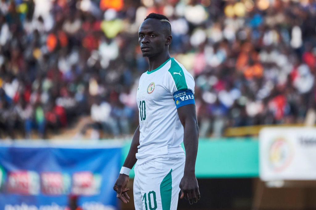 Liverpools Star Sadio Mané steht beim Afrika-Cup mit dem Senegal im Viertelfinale.