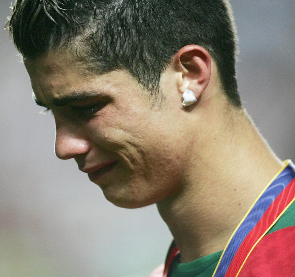 Trauer nach der EM-Niederlage im Jahr 2004.