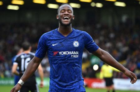 Der Ex-Dortmunder Michy Batshuayi ist zurück beim FC Chelsea.