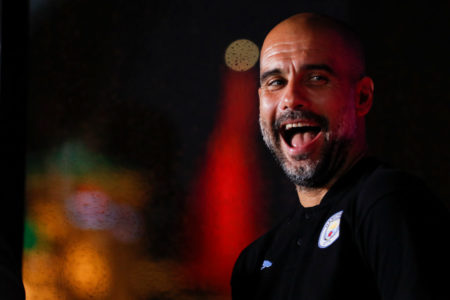 Pep Guardiola bei der Premier League Asia Trophy in Shanghai, China, im Juli 2019.