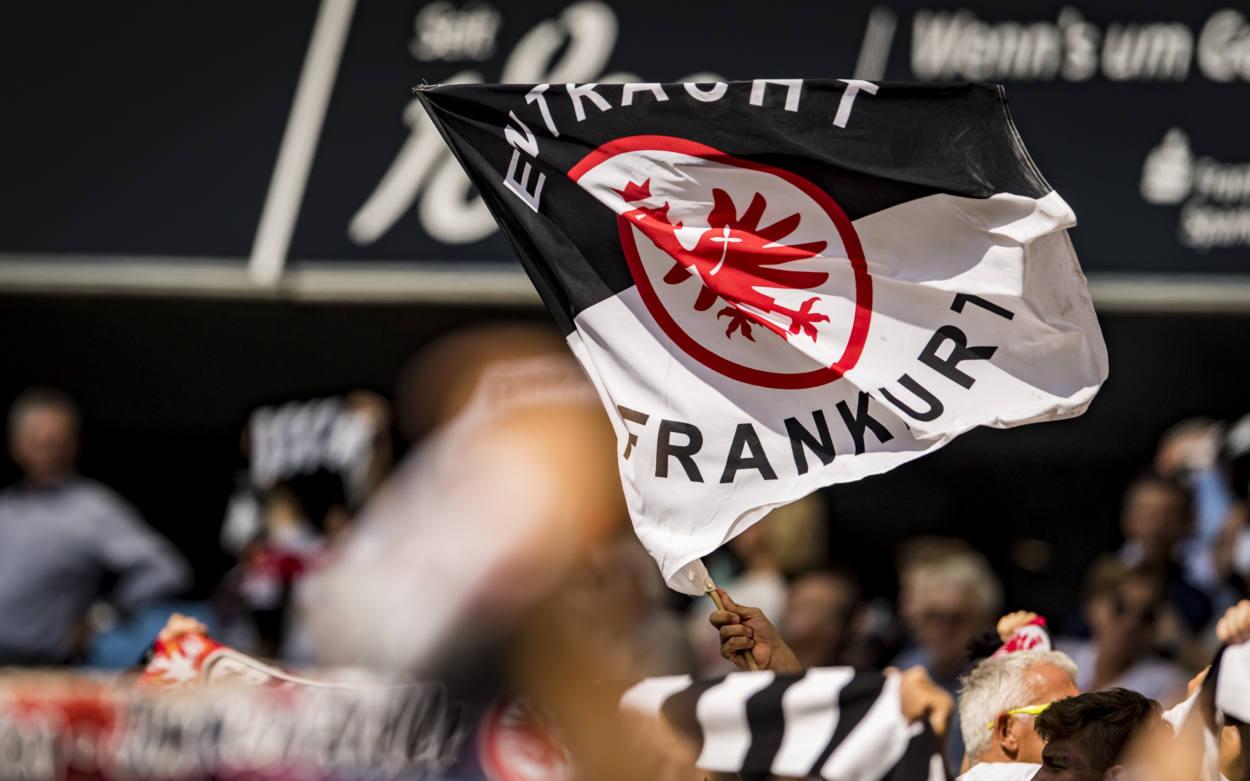 Eintract Frankfurt gegen Hertha BSC im Jahr 2016.