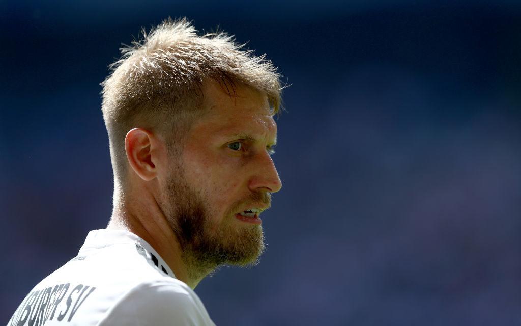 Aaron Hunt rettete dem HSV gegen Darmstadt 98 wenigstens einen Punkt.