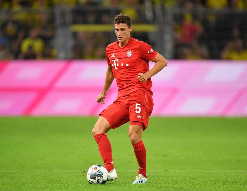 Supercup 2019: Benjamin Pavard gab erst ab der 80. Minute sein Pflichtspiel-Debüt für den FC Bayern.