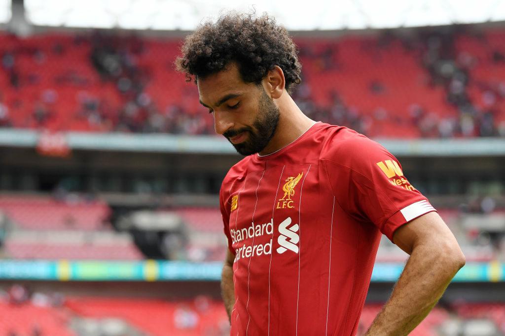 Mohamed Salah vergab in der Nachspielzeit den Sieg für den FC Liverpool.... (