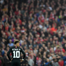 Neymar against Liverpool