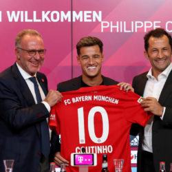 Coutinho joins Bayern on loan