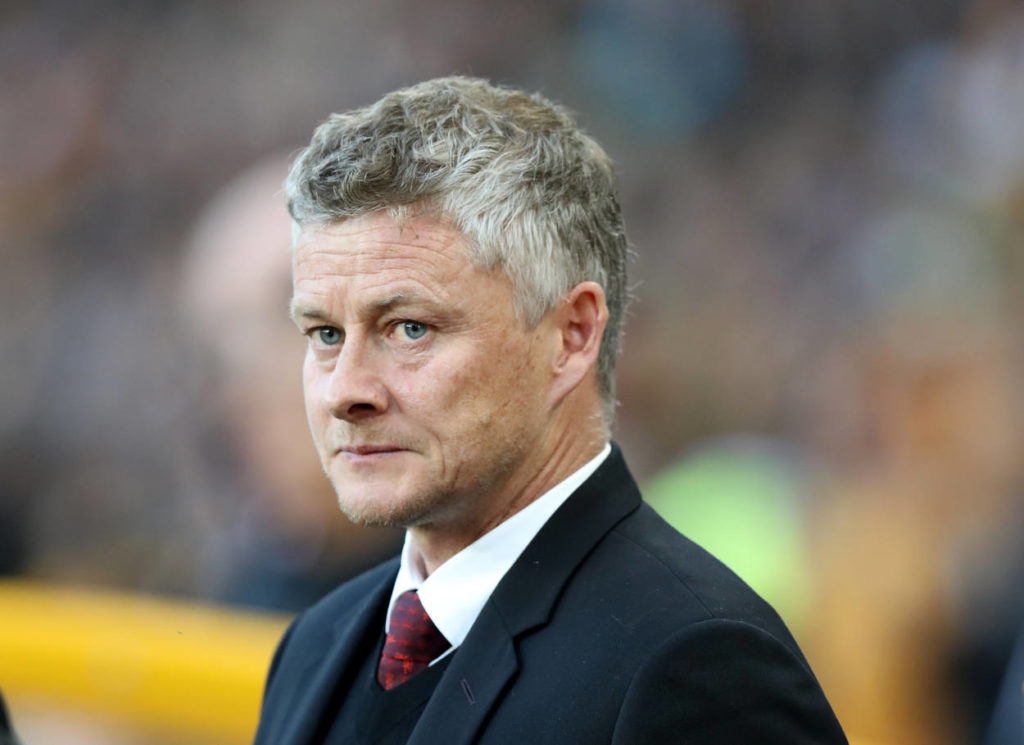 Solskjaer , the Manchester United manager