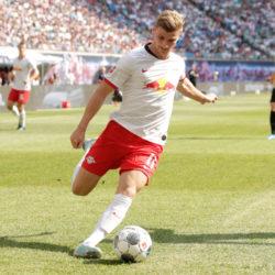 Timo Werner traf gegen Eintracht Frankfurt früh zum 1:0 und bleibt RB Leipzig über 2020 hinaus erhalten....
