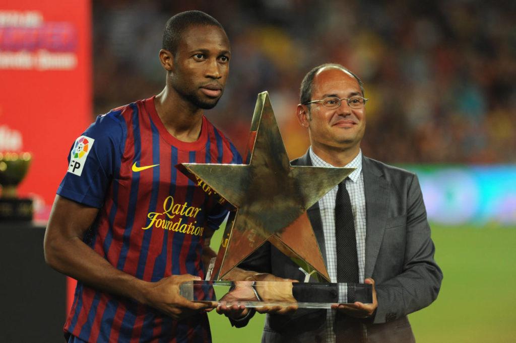 Die Hans Gamper Trophy. (