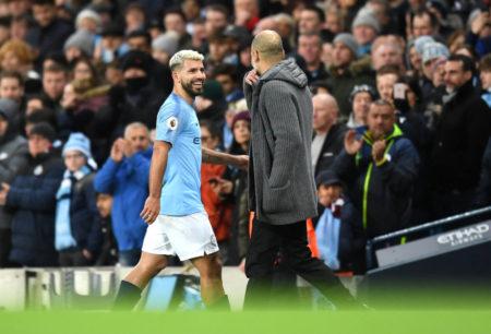 Guardiola praises Aguero