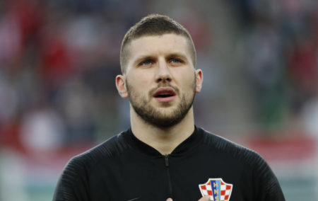 Ante Rebic of Croatia