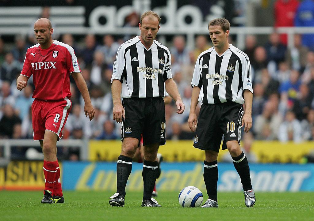 Ziemlich beste Feinde: Alan Shearer (l.) und Michael Owen bei Newcastle United.