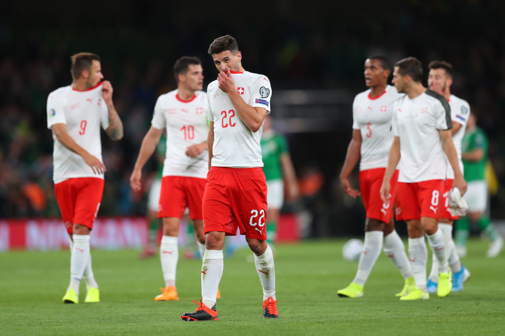 """Nur 1:1 im Schlüsselspiel in Irland: Der Schweiz droht das ,,Aus"""" in der EM-Qualifikation!"""