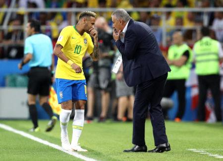 Tite and Neymar