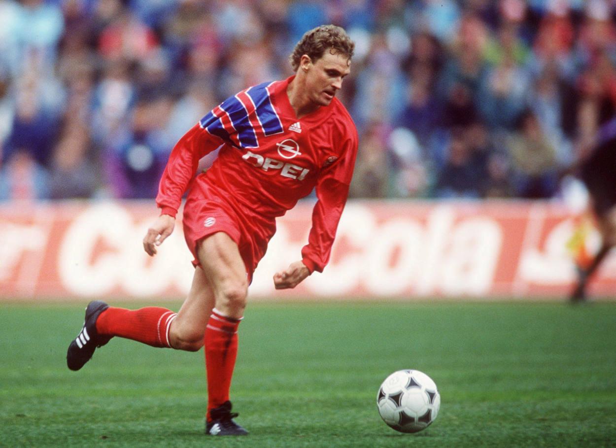 Roland Wohlfarth war Teil der Bayern-Mannschaft 1991/92.