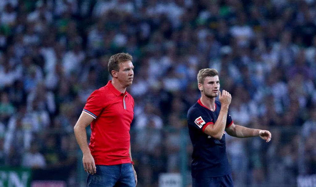 JWird Timo Werner (r.) verlängerter Arm von Coach Julian Nagelsmann (l) bei RB Leipzig?