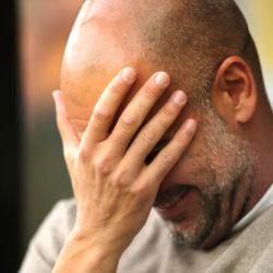 Pep Guardiola kann es nicht fassen