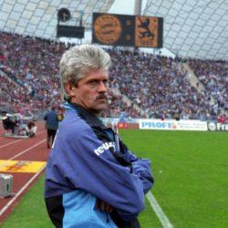 Werner Lorant im Münchner Bundesliga-Derby 1994/95